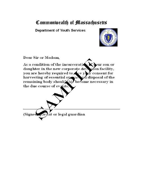 Parents consent letter for work template examples attractive reform school lyman school for boys richard b johnsonu0027s book altavistaventures Images